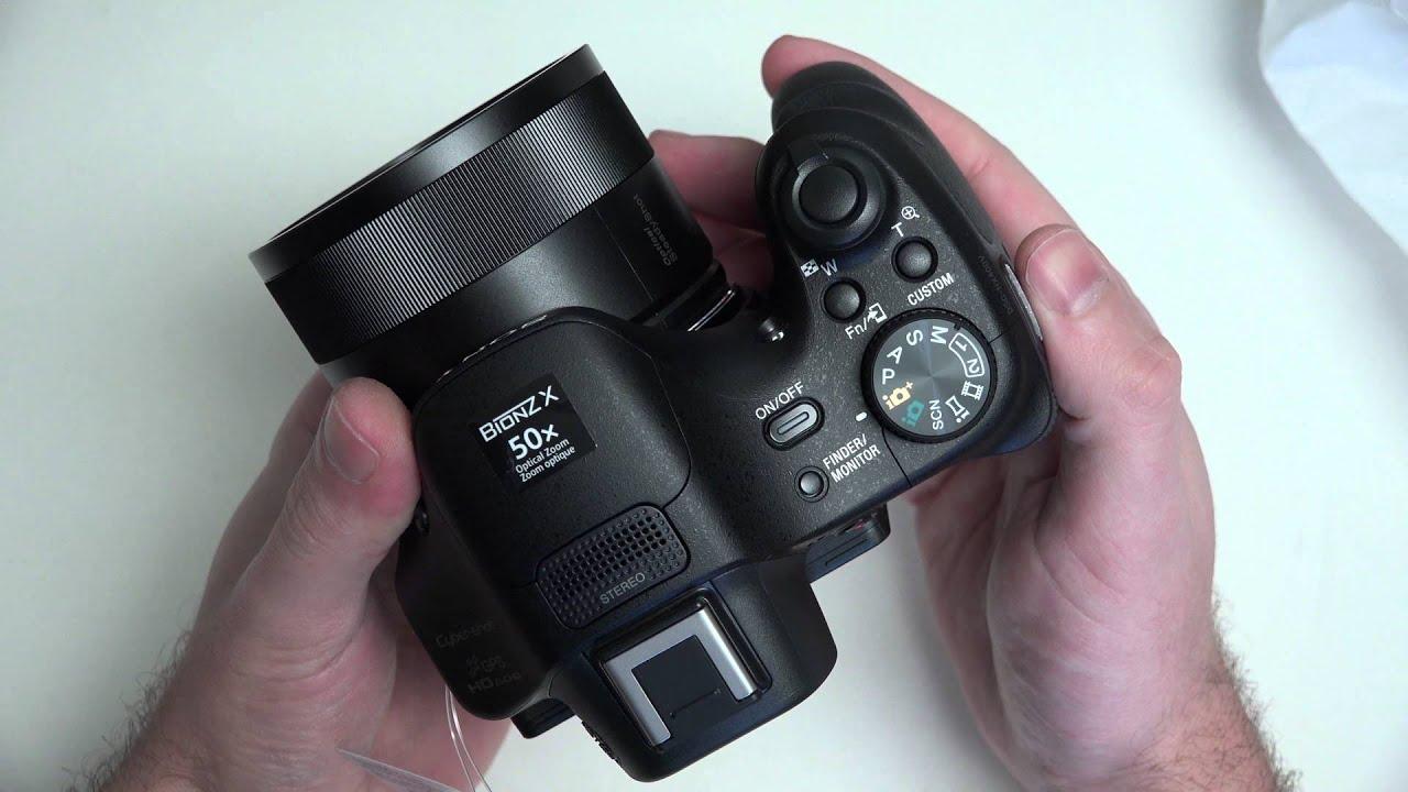 Sony Cyber-shot DSC-HX400V Unboxing in 4K - YouTube