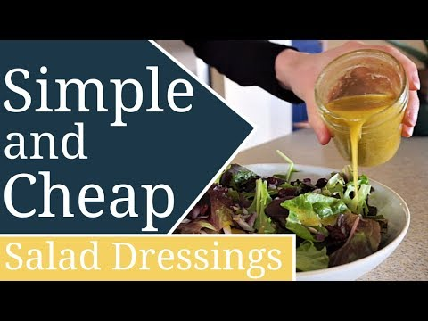 how-to-make-salad-dressing-at-home-|-food-from-scratch-series