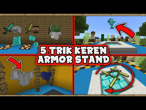 5 TRIK KEREN ARMOR STAND - MINECRAFT 1.2 (ANDROID/PC/PS3/XBOX/WIN10)