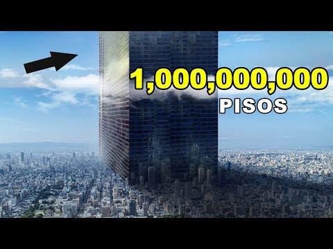 ¿Qué pasa si un edificio está construido con miles de millones de pisos?