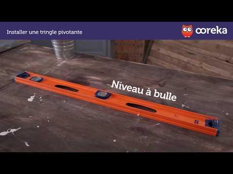 Barre Pour Rideau De Porte D Entrée installer une tringle pivotante (ooreka.fr) - youtube