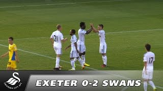 Swans TV - Highlights: Exeter v Swansea