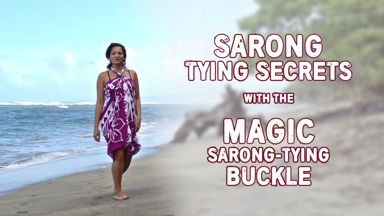 how to make a pareo sarong