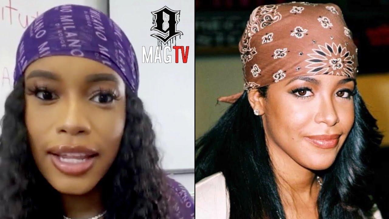 """Meek Mill's """"BM"""" Milan Harris On Looking Like Aaliyah! 🧐"""