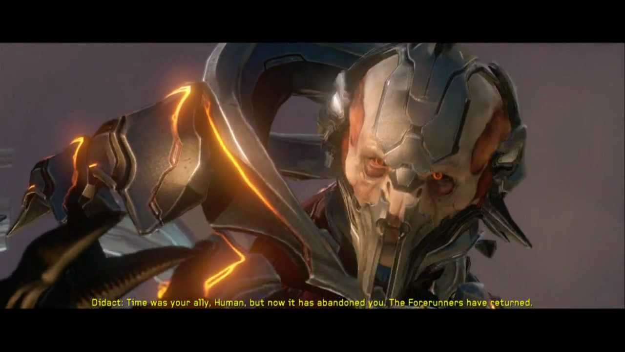 Halo 4 Meeting The Didact Youtube