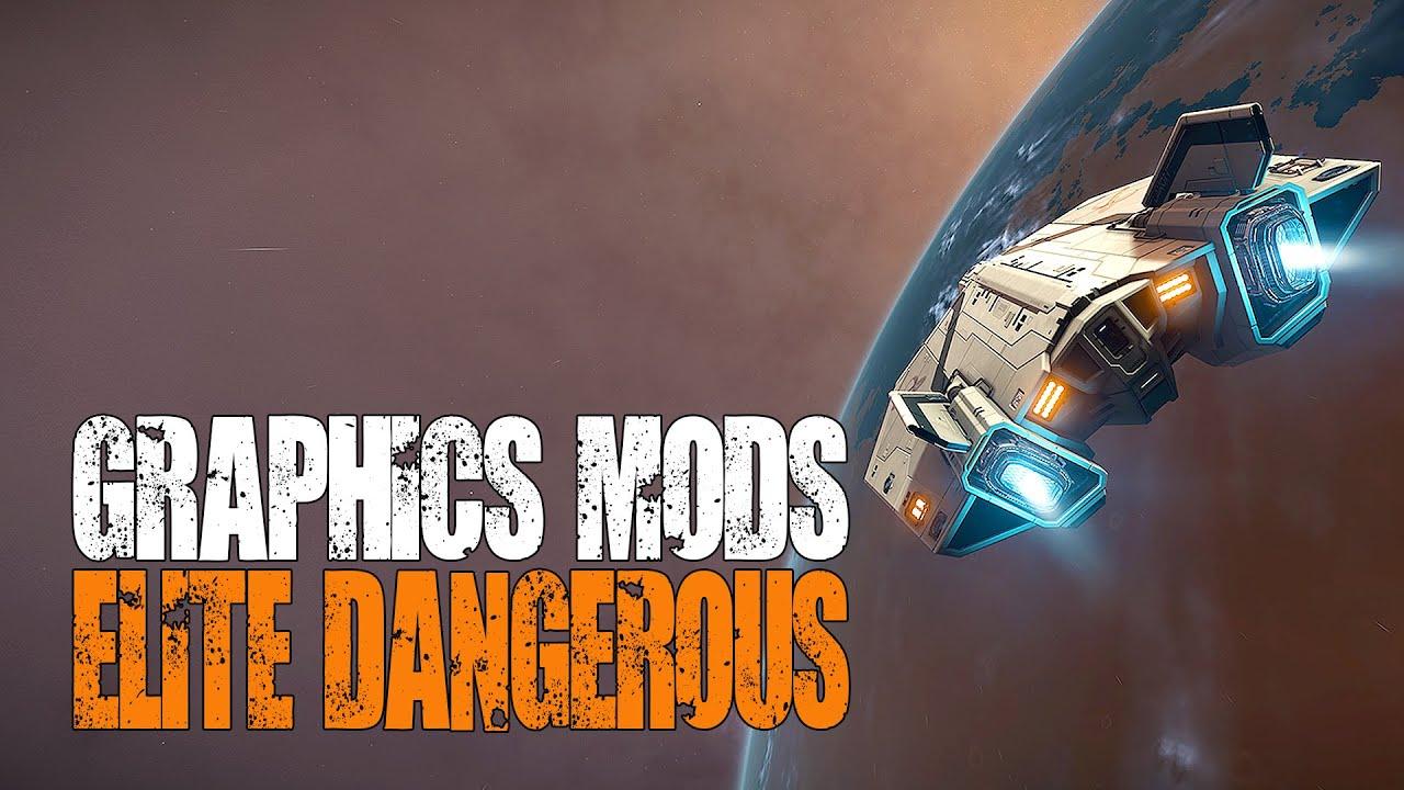 Elite: Dangerous - Graphics Mods, ReShade, SweetFX & EDFX Comparisons