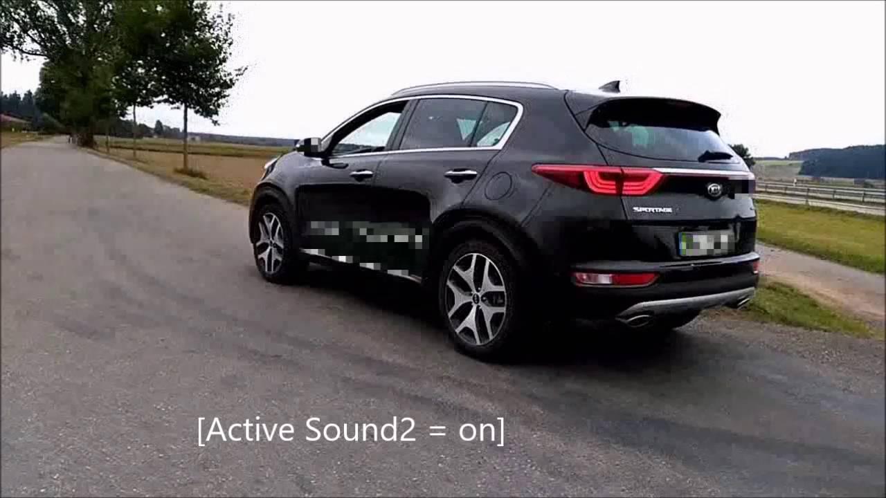 Kia Sportage With Active Sound