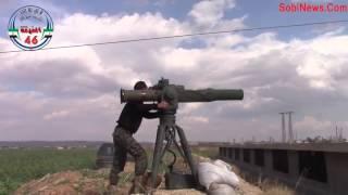 Война в Сирии. Уничтожение танков Ассада из ручного гранотомета