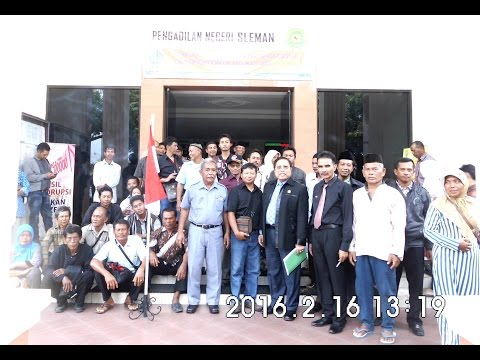 People's Lawsuit Trial,Indonesian People Sovereignty Instititute