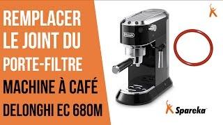 Comment remplacer le joint du porte filtre de sa cafetière Delonghi ?