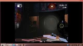 Five Nights At Freddy's 2 ep 3 - RARE MINIGAME!!!! -