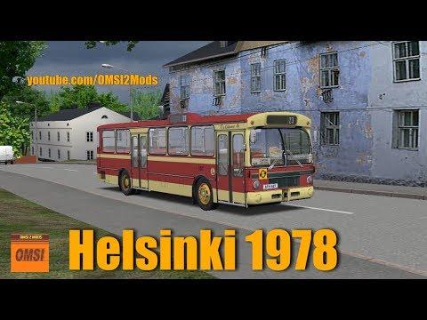OMSI 2 -  Map: Helsinki 1978