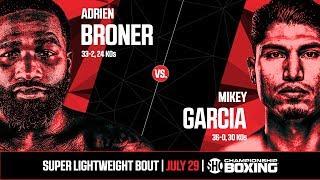 Broner vs. Garcia   Weigh-In