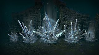 Path of Exile - Ice Crystal Hideout Decoration