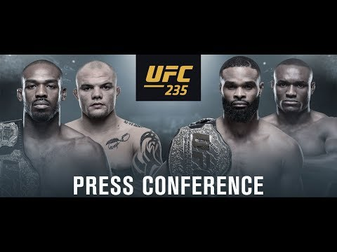 UFC 235: Jones vs Smith Press Conference