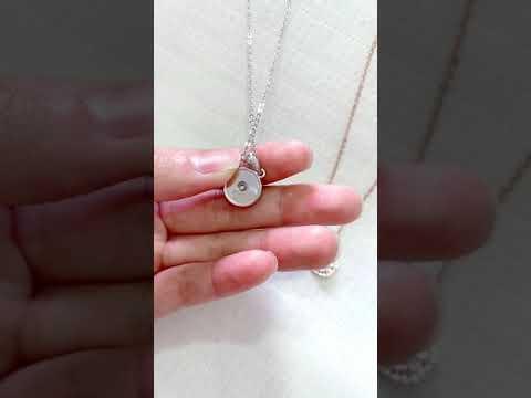 round spinning necklace