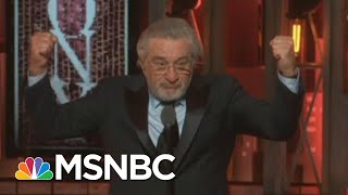 As Trump Loses WH, Robert De Niro Shares Relief And The Hope For Accountability | MSNBC