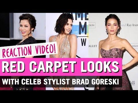 Red Carpet Reactions with Celeb Stylist Brad Goreski   Jenna Dewan