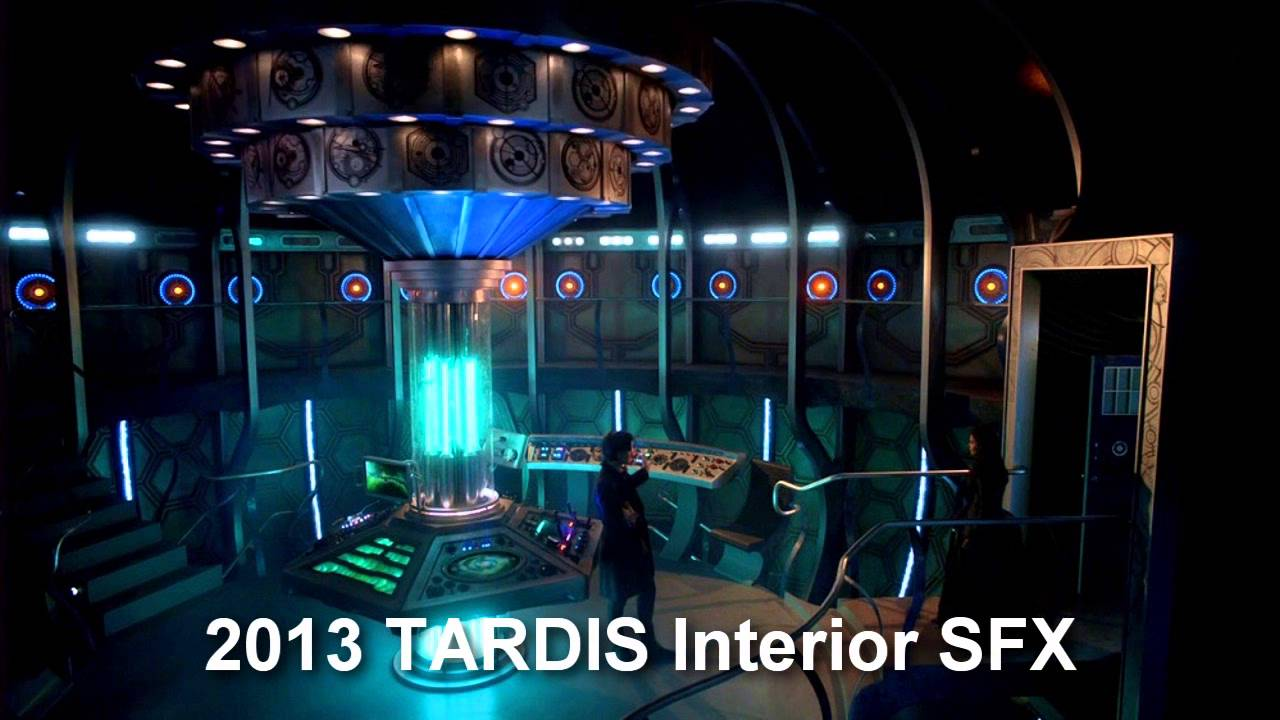 The tardis noise subtitle is getting lots of attention from doctor.