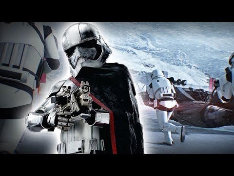 3 Minutes of Captain Phasma Gameplay in Star Wars Battlefront 2 (1080p 60fps)
