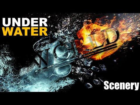 Underwater World Scenery Of Beautiful Sea Animals | Underwater World Movie | Beautiful Animals HD.