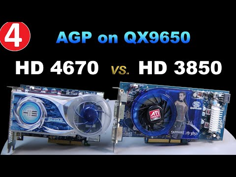AGP Radeon HD 4670 Vs. HD 3850 On Intel Core 2 Extreme - RETRO Hardware