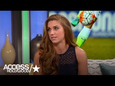 Alex Morgan Discusses Fight For Equal Pay In Women's Soccer | Access Hollywood