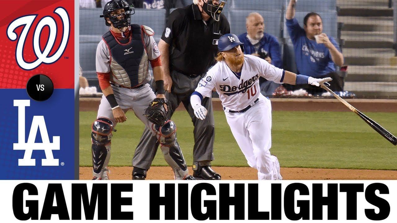 Download Nationals vs. Dodgers Game Highlights (4/10/21)   MLB Highlights