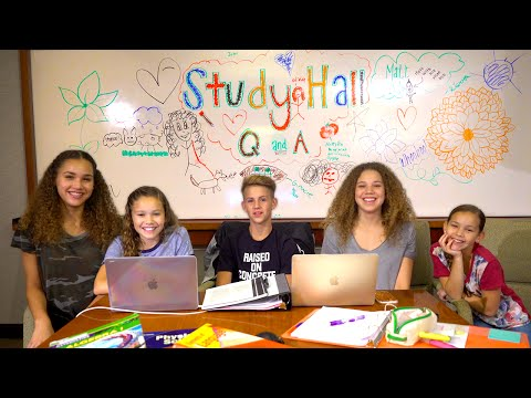 LIVE Stream Study Hall Q&A (MattyBRaps & Haschak Sisters)