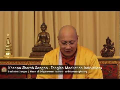 Tonglen Meditation Instructions with Khenpo Sherab Sangpo - January 6, 2013