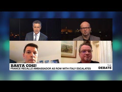 Basta Cosi! France recalls ambassador as row with Italy escalates