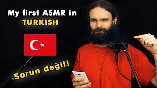 My first ASMR video in Turkish (Fısıltı, Türkçe, a few tr…