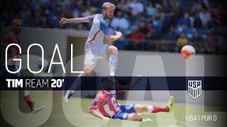 MNT vs. Puerto Rico: Tim Ream Goal - May 22, 2016