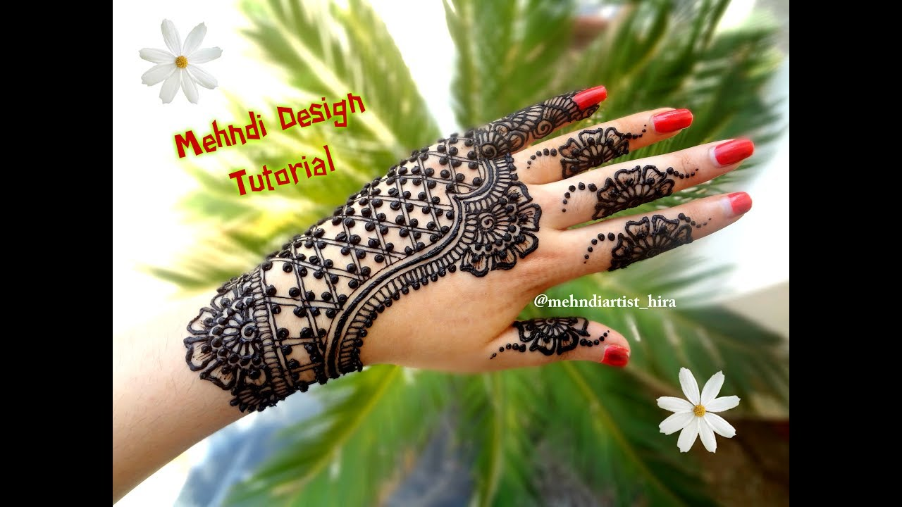Henna Tattoo Designs For Diwali: How To Apply Latest Easy Simple Henna Mehndi Designs For