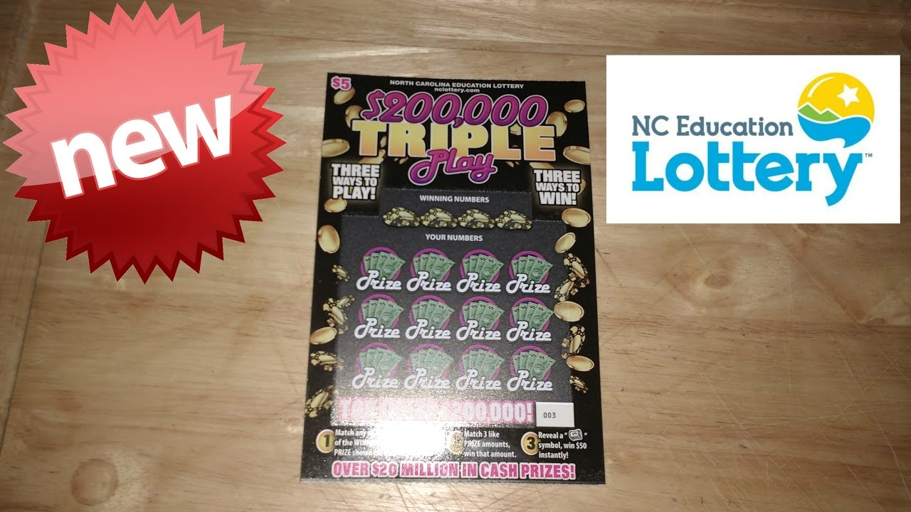 New $200,000 Triple Play Scratch Off