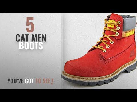 Top 10 Cat Men Boots [ Winter 2018 ]: Caterpillar Men's Colorado Boot,Red,13 M