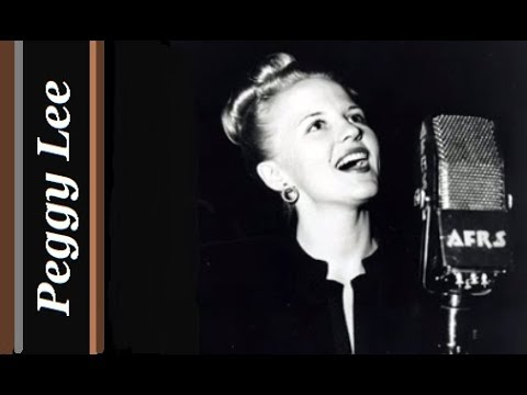 Peggy Lee - It Ain`t Necessarily So