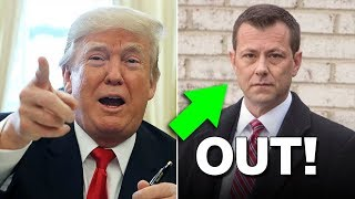 Never Trumper FBI Agent Peter Strzok Escorted From FBI Building (REACTION)