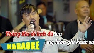 [KARAOKE] Bà Mẹ Hai Con - Quang Lập