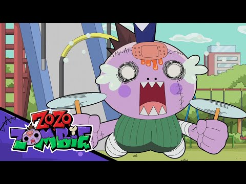 Zo Zo Zombie! Drones, Rampaging Socks, Snot Ball, And Zombie Surfing!