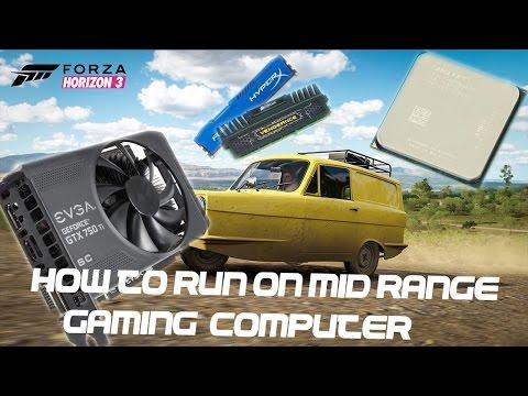 How To Run Forza Horizon 3 On A Mid-Range Gaming PC :: FX6350 3.9Ghz :: 750 Ti SC EVGA