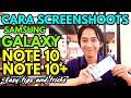Tips 2 Cara Screenshoot Keren di Galaxy Note 10 & Galaxy 10+ II Screenshot teraneh Android