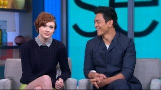 Karen Gillan and John Cho Shed Light on 'Selfie'