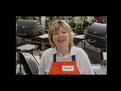 B&Q Barbecue Advert On TNT UK TV