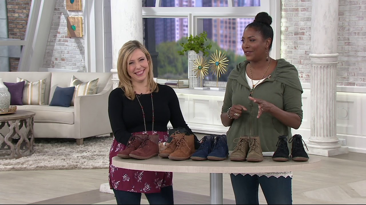 Suede Lace-up Ankle Boots - Tamitha Key
