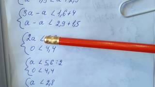 889 (а) Алгебра 8 класс, Неравенства примеры решение