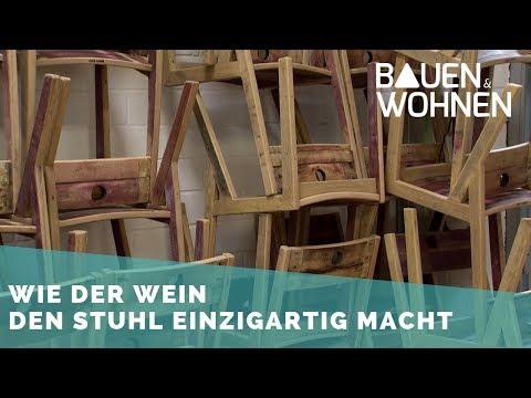 Upcycling – So werden aus alten Barrique-Fässern Möbel