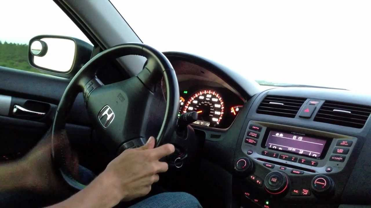 Quick Drive Of My 2006 Honda Accord Ex Coupe 4 Cyl Youtube