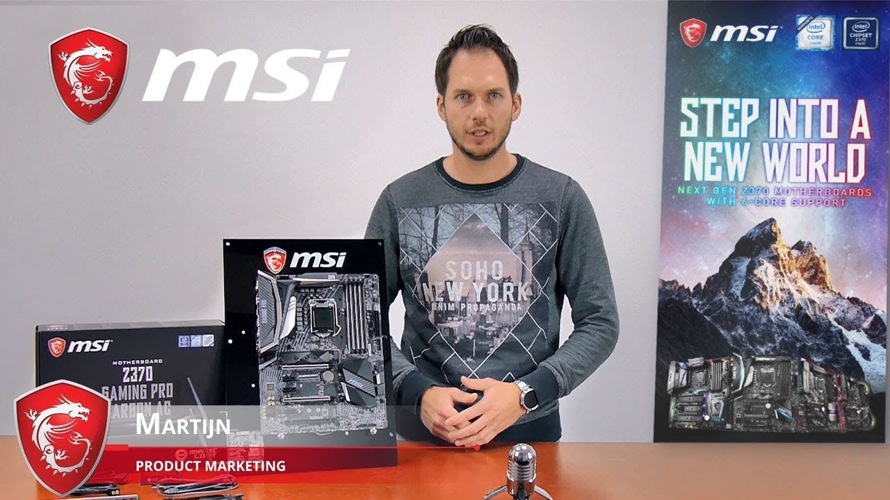 Z370 GAMING PRO CARBON AC Feature Video| Gaming Motherboard | MSI