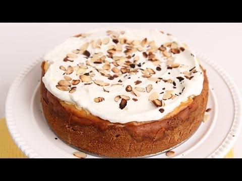 Amaretti Cheesecake Recipe - Laura Vitale - Laura in the Kitchen Episode 695